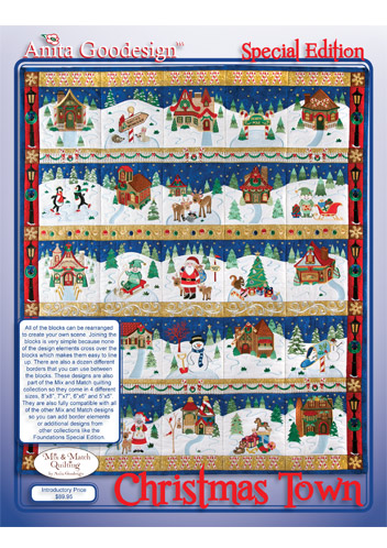 Class: Christmas Town Quilt by Anita Goodesign in Helena, MT